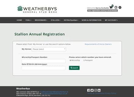 WEATHERBYS – Digital Transformation