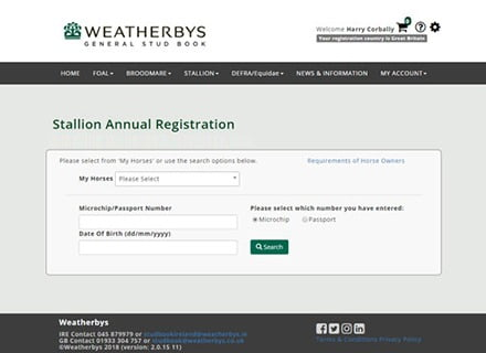 WEATHERBYS – Digital Transformation -OLD