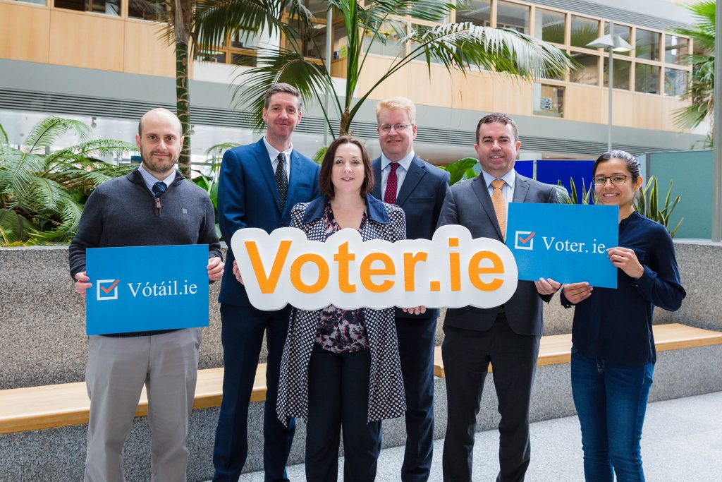 Some of the Voter.ie DCC and TEKenable Team