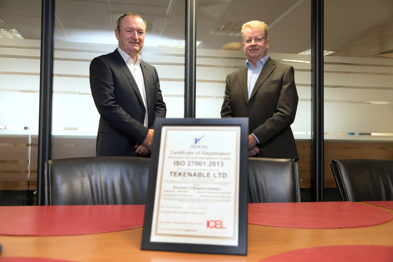 TEKenable Awarded ISO27001:2013 Certification