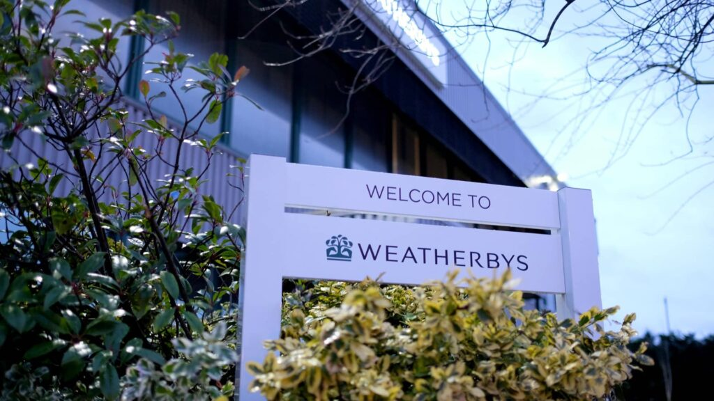 An image of Weatherbys UK Headquarters