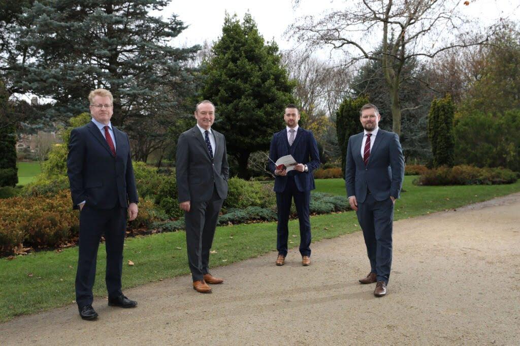 l-r Peter Rose, Nick Connors-TEKenable, John Summers and Mark Richardson-Baker Tilly