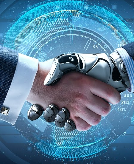 Partners shaking hands IT Contracting