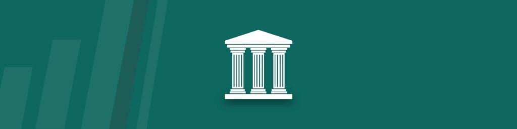 An image of three column pillars to represent the three pillars of a digital transformation