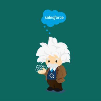 An image to represent Salesforce Einstein smart search